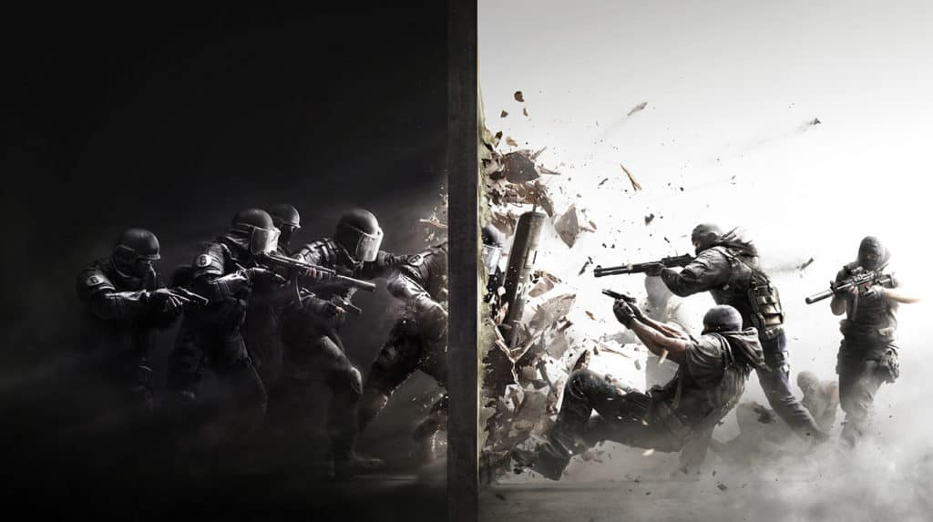 A depiction of Rainbox Six: Siege rival gameplay - publisher Ubisoft has announced a programme to encourage Tier 2 teams in the UK and Ireland in partnership with student esports