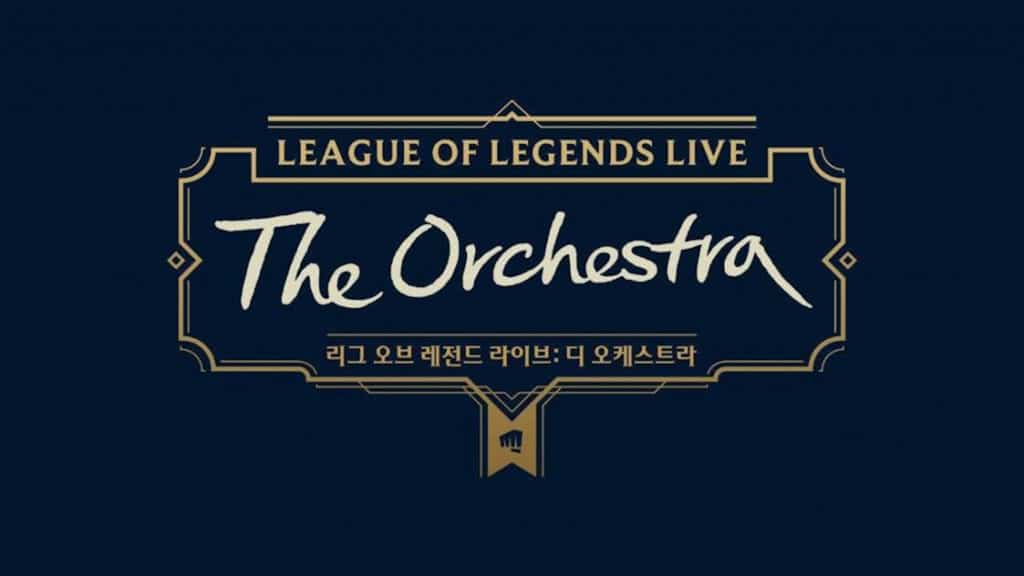 League of Legends Live Orchestra South Korea
